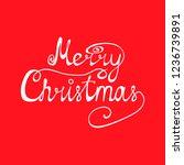 congratulation of merry...   Shutterstock .eps vector #1236739891