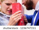 sexual harassment in business... | Shutterstock . vector #1236747211