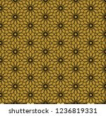 seamless pattern in authentic...   Shutterstock .eps vector #1236819331