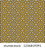 seamless pattern in authentic...   Shutterstock .eps vector #1236819391