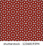 seamless pattern in authentic...   Shutterstock .eps vector #1236819394