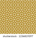 seamless pattern in authentic...   Shutterstock .eps vector #1236819397