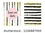 bridal shower card with dots... | Shutterstock .eps vector #1236887404