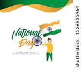 happy spain national day vector ...   Shutterstock .eps vector #1236935464