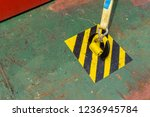 industrial strap with hook... | Shutterstock . vector #1236945784