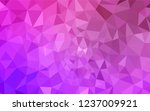 light purple  pink vector... | Shutterstock .eps vector #1237009921