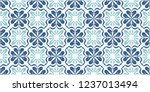 talavera pattern.  indian... | Shutterstock .eps vector #1237013494