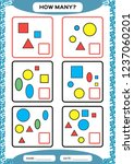 how many. counting game for... | Shutterstock .eps vector #1237060201
