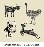 animal,artistic,artwork,beautiful,bird,bundle,carving,classic,clip,clip art,collection,curl,deer,design,dog