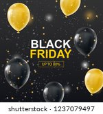 black friday backgraound | Shutterstock .eps vector #1237079497