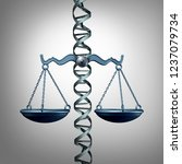 bioethics and the law... | Shutterstock . vector #1237079734