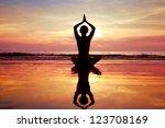 yoga | Shutterstock . vector #123708169