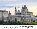 Almudena Cathedral  Madrid ...