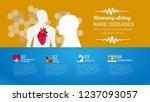 heart info graphics design... | Shutterstock .eps vector #1237093057