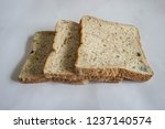 bread expired  whole wheat... | Shutterstock . vector #1237140574
