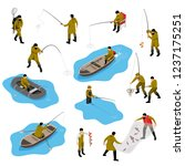 Isometric Fisherman Set With...