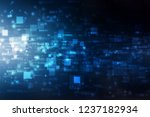 binary code background  digital ... | Shutterstock . vector #1237182934