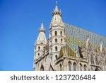 st. stephen's cathedral in wien ...   Shutterstock . vector #1237206484