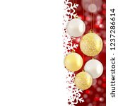 abstract holiday new year and... | Shutterstock .eps vector #1237286614