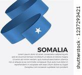 somalia flag for decorative... | Shutterstock .eps vector #1237293421