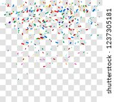 abstract background with many... | Shutterstock .eps vector #1237305181