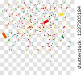 abstract background with many... | Shutterstock .eps vector #1237305184