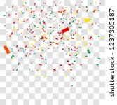 abstract background with many... | Shutterstock .eps vector #1237305187