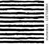 irregular striped brush strokes ... | Shutterstock .eps vector #1237318864