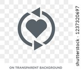 loyalty icon. loyalty design... | Shutterstock .eps vector #1237320697