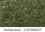chopped dry parsley leaves... | Shutterstock . vector #1237360627