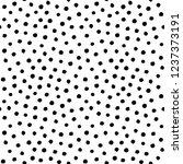 irregular dots brush strokes... | Shutterstock .eps vector #1237373191