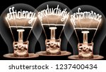 photo of light bulbs with... | Shutterstock . vector #1237400434