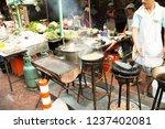 china town bangkok thailand... | Shutterstock . vector #1237402081