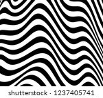 abstract wave monochrome... | Shutterstock .eps vector #1237405741