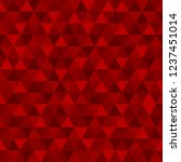 abstract red geometric... | Shutterstock .eps vector #1237451014
