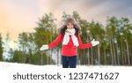 people  season and leisure... | Shutterstock . vector #1237471627
