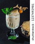 pina colada cocktail. exemplary ... | Shutterstock . vector #1237492981