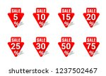 sticker or tag for sale offer... | Shutterstock .eps vector #1237502467