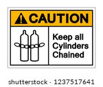 caution keep all cylinders... | Shutterstock .eps vector #1237517641