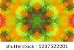 geometric design  mosaic of a...   Shutterstock .eps vector #1237522201