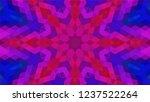 geometric design  mosaic of a...   Shutterstock .eps vector #1237522264