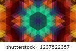 geometric design  mosaic of a...   Shutterstock .eps vector #1237522357