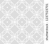 art deco seamless background. | Shutterstock .eps vector #1237523701