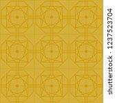 art deco seamless background. | Shutterstock .eps vector #1237523704