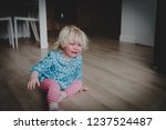 crying child at home  stress ...   Shutterstock . vector #1237524487