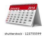 2014 Year Calendar. January....