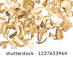 lot of slices of edible dry... | Shutterstock . vector #1237653964