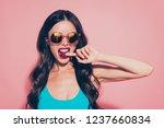 close up portrait of nice... | Shutterstock . vector #1237660834