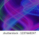 disco panel. bright dynamic... | Shutterstock .eps vector #1237668247