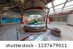 3d cg rendering of space station | Shutterstock . vector #1237679011